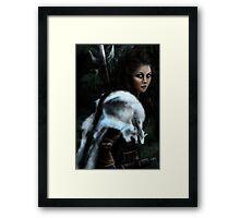 Wild hunt Framed Print