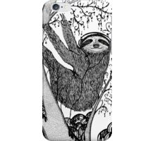 PEACE-TOED SLOTH iPhone Case/Skin