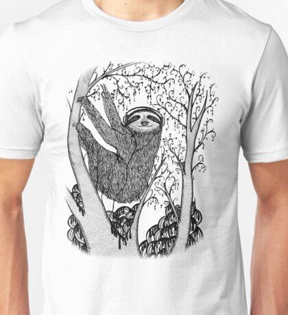 PEACE-TOED SLOTH Unisex T-Shirt