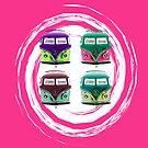 Pop kombi card Musk by KellieBee