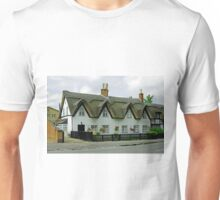 Thatched Cottages In Repton Unisex T-Shirt