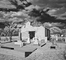 iglesia cementerio by Patricia Montgomery