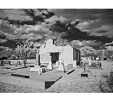 iglesia cementerio Photographic Print
