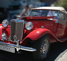 Red MG by Antoine de Paauw