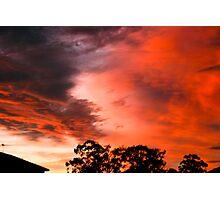 Sunset 01-01-09 Photographic Print