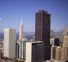 Transamerica Building by clou