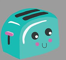 Lil' Toaster by baysixapparel