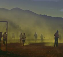 Football in Sahara. by nskottun