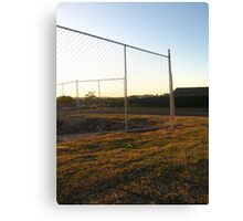 Barriers of Steel Canvas Print