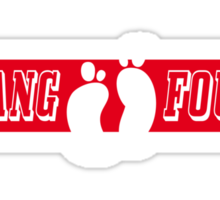 Hang Four 2 Sticker