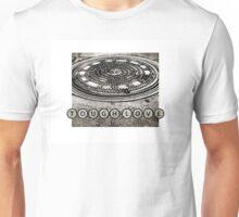 TOUGH LOVE - MANHOLE COVER Unisex T-Shirt