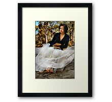 Something In The Air... Framed Print