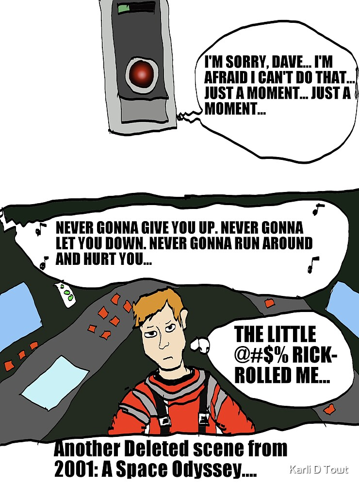 Another Deleted Scene from 2001: A Space Odyssey by flippinkmoon