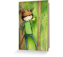 deer man Greeting Card