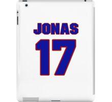 Basketball player Jonas Valanciunas jersey 17 iPad Case/Skin