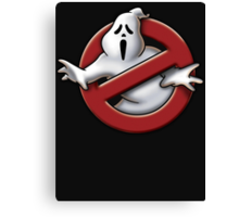 Scream / Ghostbusters Parody  Canvas Print
