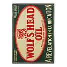 Vintage Motor Oil sign by Tony  Bazidlo