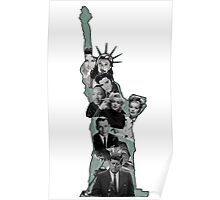 Statue Of Icons  Poster