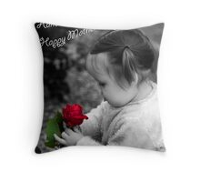 Hand Picked for You Throw Pillow