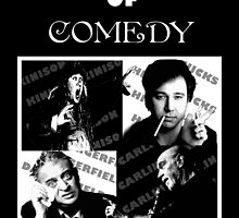 Four Horsemen of Comedy by AllMadDesigns