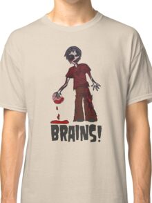 Zombie - Brains!  Classic T-Shirt