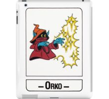 He-Man - Orko - Trading Card Design iPad Case/Skin