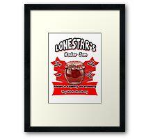Lonestar's Radar Jam Framed Print
