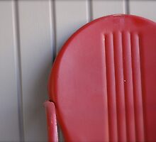 Red Chair by Robert Baker