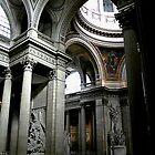 Pantheon Interior in Paris by Elana Bailey