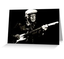 The Bluesman II Greeting Card