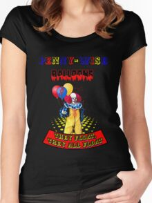 Penny-Wise Balloons Women's Fitted Scoop T-Shirt