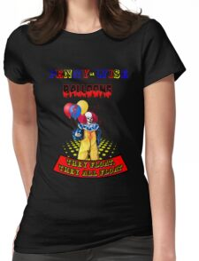 Penny-Wise Balloons Womens Fitted T-Shirt