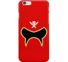 Super Megaforce / Gokaiger Red iPhone Case/Skin