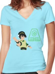 Toph Women's Fitted V-Neck T-Shirt