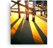 WPPD 2008 - Coffs Harbour jetty at sunrise Canvas Print