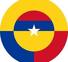 Roundel of the Colombian Air Force by abbeyz71
