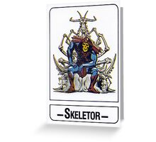 He-Man - Skeletor - Trading Card Design Greeting Card