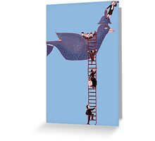 Bird Rescue Boat Greeting Card