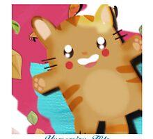 kawaii cat by Yumemiru