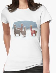 Winter Show Off Womens Fitted T-Shirt