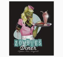 Eat out at the Zombie Diner  One Piece - Short Sleeve