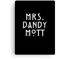 Mrs. Dandy Mott Canvas Print