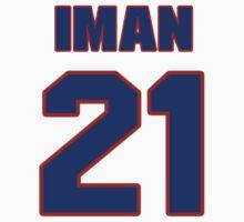 Basketball player Iman Shumpert jersey 21 by imsport