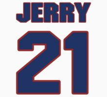 Basketball player Jerry Harkness jersey 21 by imsport