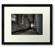 Drab and decaying Framed Print