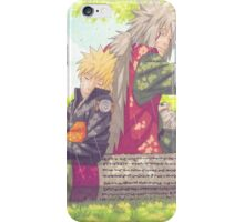Naruto and Jiraiya iPhone Case/Skin