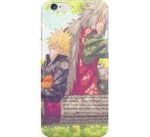 Naruto and Jiraiya iPhone Case/Skin