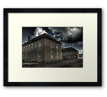 Barrack Blocks Framed Print