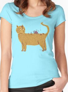 Traveling Circus Women's Fitted Scoop T-Shirt