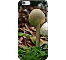 Popping up after a summer shower iPhone Case/Skin
